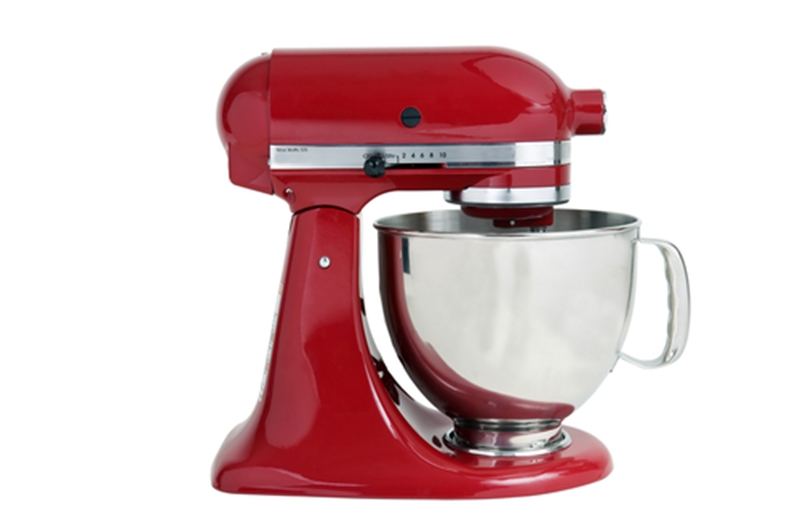Turn the kitchen mixer off when it's not being used - the savings will add up.