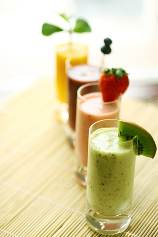 Stay healthy with fresh juices and smoothies from your smart blender.