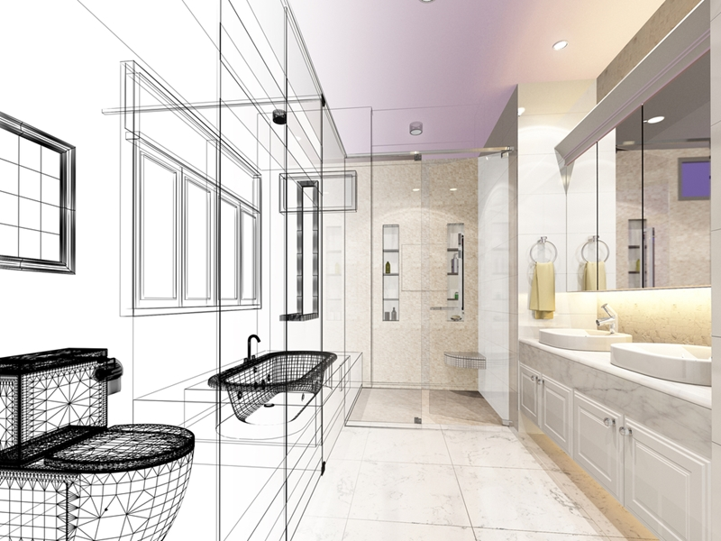 Considering a new bathroom? It's a complex job, and requires expertise.